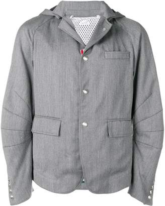 Thom Browne Rwb Stripe Articulated Sport Coat