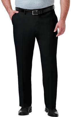 Haggar Premium Comfort Dress Pant Classic Fit Flat Front Pants-Big and Tall