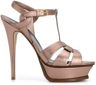 Saint Laurent Tribute 105 platform sandals