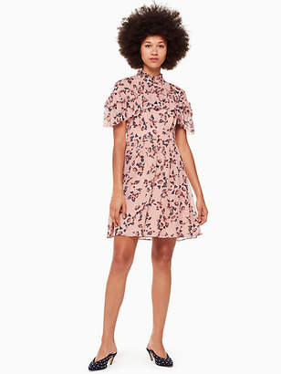 Kate Spade Prairie rose clip mini dress