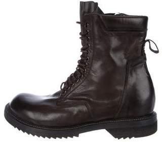 Rick Owens Goodyear Flex Combat Boots