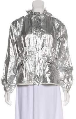 Moncler Jais Metallic Silver jacket