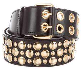 Sonia Rykiel Embellished Leather Belt