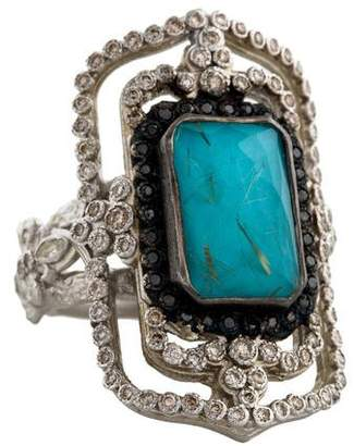 Armenta New World Open Rectangle Ring