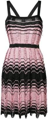 M Missoni knitted short dress
