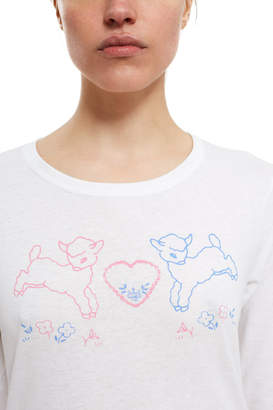 Vänna Youngstein Baby Lamb Long-Sleeve Tee