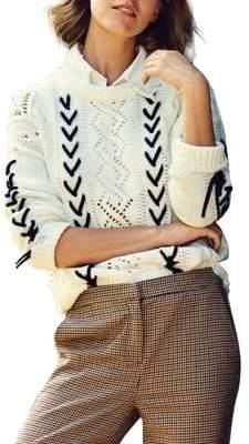 Vero Moda Aneta Lace-Up Sweater