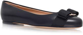 Salvatore Ferragamo Leather Varina Flats