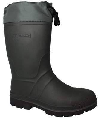 Men's Ozark Trail Green Insulated Waterproof All-Purpose Winter Boot - Minus 40 F Temp Rated with 8mm Removable Felt Liner.