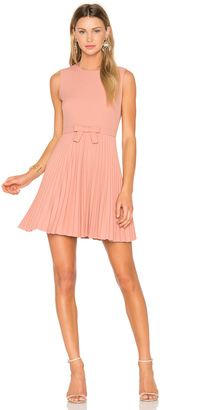 Red Valentino Sleeveless Pleated Mini Dress $775 thestylecure.com