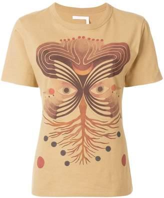 Chloé Pictoral print T-shirt