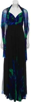 Alberto Makali Silk Maxi Dress w/ Tags