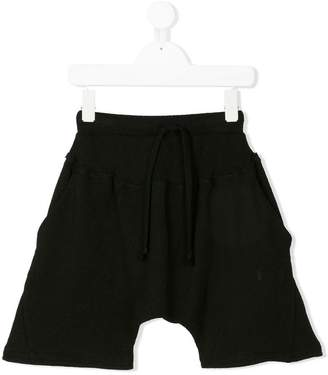 Lost And Found Kids drop-crotch shorts
