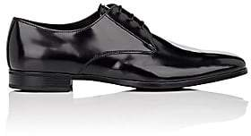 Prada Men's Leather Bluchers - Black