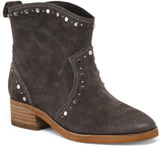 Western Inspired Suede Boots