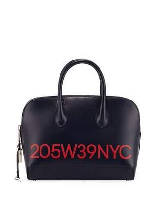 a22bf34d010 Calvin Klein Dalton Small Smooth Leather Top-Handle Bag