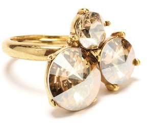 Oscar de la Renta Gold Rivoli Stone Ring