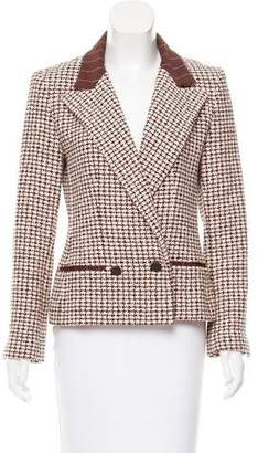 Chanel Peak-Lapel Tweed Blazer w/ Tags