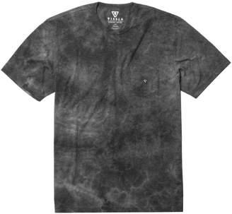 VISSLA Calipher Embroidery Short-Sleeve Tie Dye T-Shirt - Men's