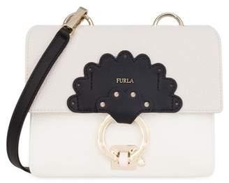 Furla Mini Scoop Leather Shoulder Bag