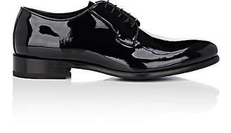 Barneys New York Men's Patent Leather Bluchers - Black