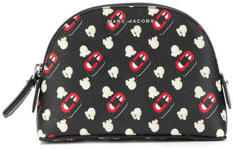 Marc Jacobs printed cosmetic pouch