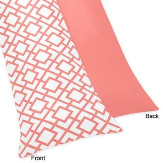 JoJo Designs Sweet Mod Diamond Body Pillow Case