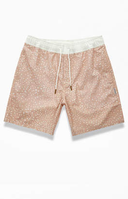 Charlie Holiday Pink Spotted Tangier Swim Trunks