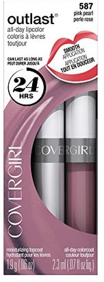 COVERGIRL Outlast All-Day Moisturizing Lip Color, Pink Pearl .13 oz (4.2 g) $8.99 thestylecure.com