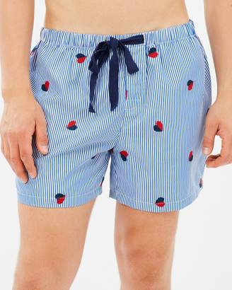 Men's Heart Shorts