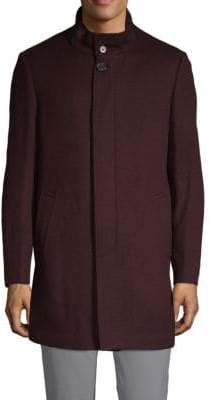 Saks Fifth Avenue Wool & Cashmere Top Coat