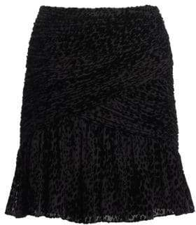 A.L.C. (エーエルシー) - A.L.C. Corey Leopard Print Mini Skirt