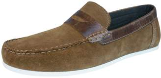Red Tape Wardon Mens Leather Suede Slip On Moccasins / Shoes