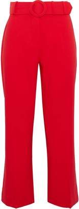 Walter W118 By Baker Cropped Cady Flared Pants
