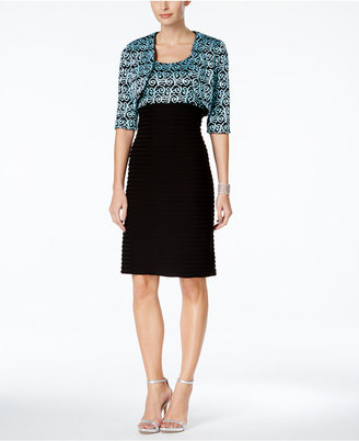 R & M Richards Sheath Dress and Sequined Jacket $109 thestylecure.com