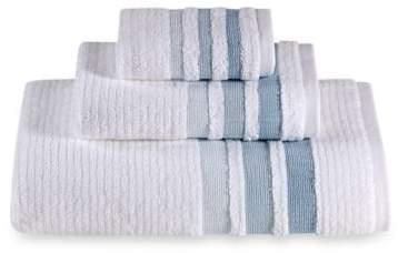 Crinkle Cord Bath Towel in Aqua