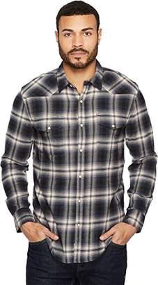 Lucky Brand Men's Santa Fe Western Button Up Shirt