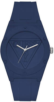 GUESS U0979L4 Active Life Navy Silicone Analog Watch
