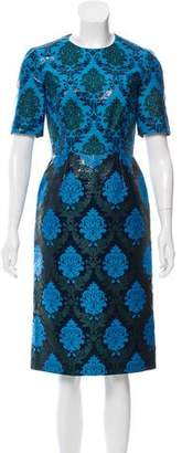 Mary Katrantzou Printed Midi Dress w/ Tags