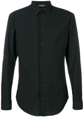 Emporio Armani fitted classic shirt