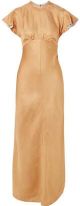Zimmermann Twill Midi Dress - Gold