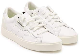 best website 10a98 a1dd7 adidas Sleek Leather Sneakers