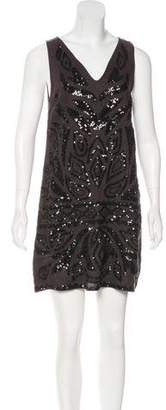 Calypso Linen Embellished Dress
