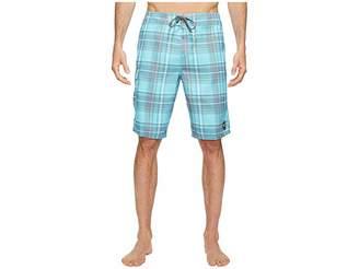 O'Neill Santa Cruz Plaid Boardshorts Men's Swimwear