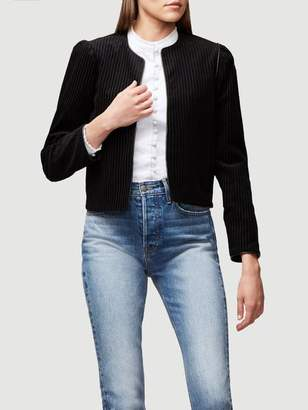 Frame Crop Variegated Jacket