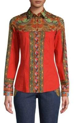 Etro Dream Catcher Button-Down Shirt