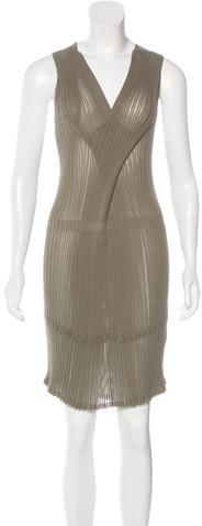 3.1 Phillip Lim3.1 Phillip Lim Crossover Ribbed Dress
