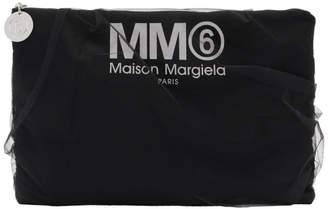 MM6 MAISON MARGIELA (エムエム6 メゾン マルジェラ) - Mm6 Maison Margiela MM6 Maison Margiela ブラック チュール カバー ポーチ