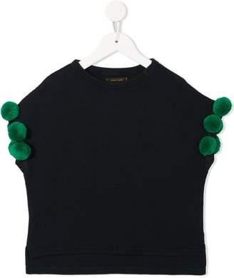 Go To Hollywood embellished sleeved top