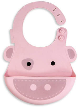 Marcus Collection & Pokey the Pig Silicone Baby Bib